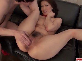 Marina Matsumoto utter home pleasures in hardcore scenes - More at Japanesemamas com
