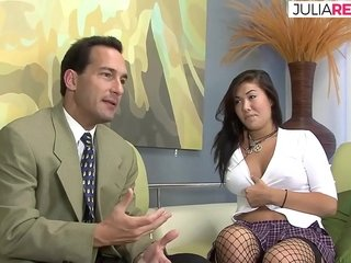 Asian partisan loves bonking coupled with shows on Easy Street far you
