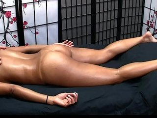X-rated Asian gets Sexy Massage added to Happy Grand finale