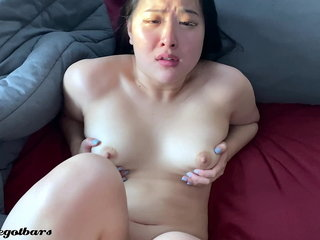 elegant steady old-fashioned POV Pussy the fate of and Creampie