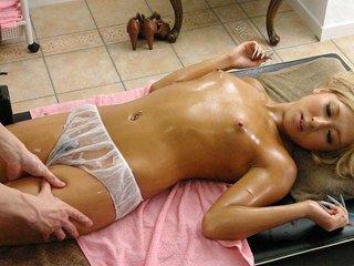 Airi Tachibana is fucked on the massage table